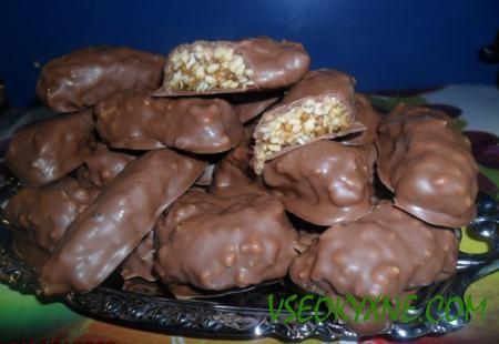 Козинаки в шоколаде