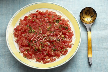 салат тюльпаны рецепт с фото пошаговым фото