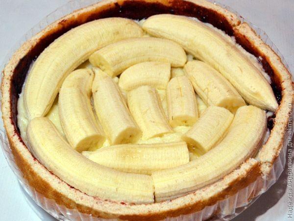 Торт с бананом рецепты в домашних условиях
