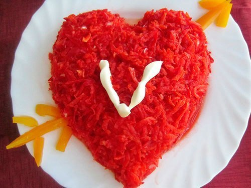 салат в форме курицы рецепт