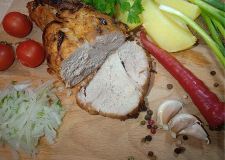 Необычно запекаю мясо, получается сочно и пикантно. Вкусный рецепт