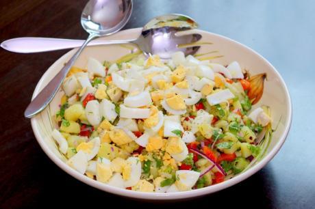 Турецкий картофельный салат от которого я не смогу отказаться.
