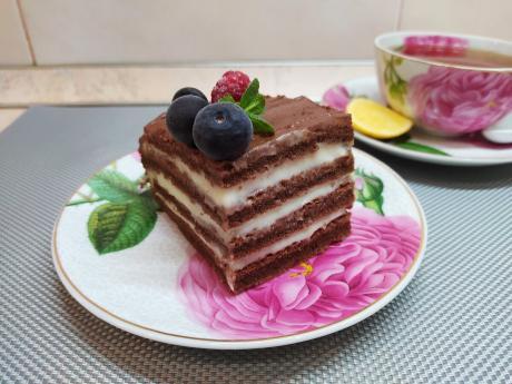 Торт который всегда получается. Очень простой рецепт