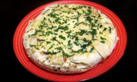 Что приготовить на ужин из лаваша и сыра, так чтобы все наелись