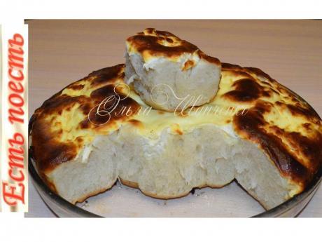Хлеб с заливкой