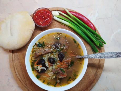 Суп с черносливом, который всегда готовлю первого января
