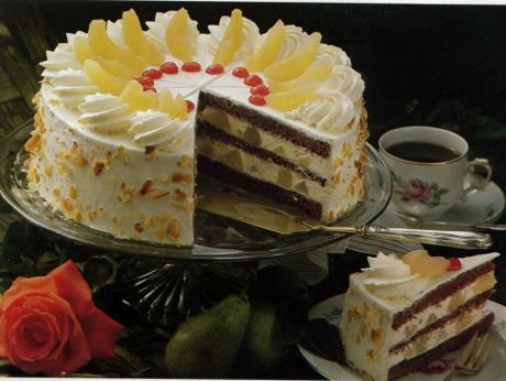 Как же приготовить нежный и вкусный грушевый торт?!