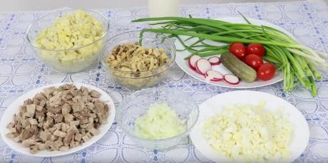 Чудесный салатик