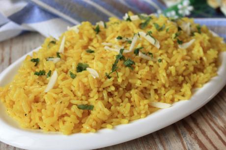 """Показываю, как я готовлю рассыпчатый рис на гарнир """"Зернышко к зернышку"""": на сковороде за 20 минут"""