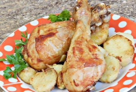 Куриные ножки, запеченные в кетчупе